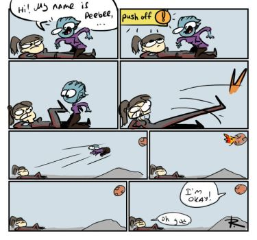 Mass Effect: Andromeda, 8 by Ayej