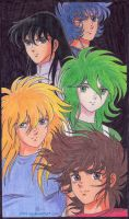 Saint Seiya by tri-za