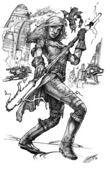 Jarael the Outlaw by DeanZachary