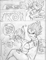 Goku vs. Vegeta Page7 by ViperXtreme