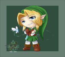 Chibi Link by Lady-Zelda-of-Hyrule