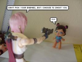 Lightning shooting the baby D: by Miss-Sweetlivvy