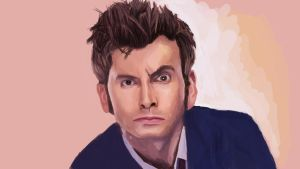 David Tennant collaboration by elddiReMsihT