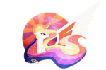 Celestia Thing by JazzyBrony
