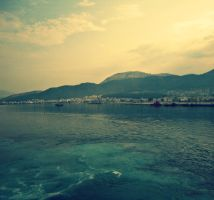 sea and mountains by natiapaso