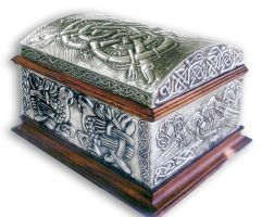 CELTIC  CHEST 3 - COMPLETE. by arteymetal