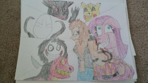 Paris Paul and the Creepypasta's by Toothshy11
