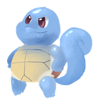 Squirtle by sweating