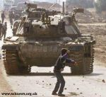 Palestine - boy - tank by gehenna-catacombs