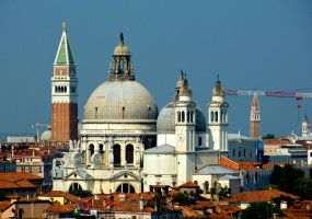 Buildings and Basilica by AtomicBrownie