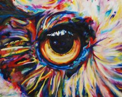 Rainbow Eye by jirael