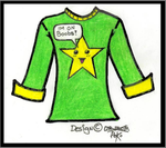 Boob star T-Shirt design by Ninjasorris