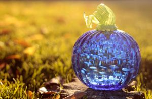 Glass Pumpkin 2 by VileYonderboy