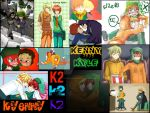 K2/Kyenny SP Yaoi (Kenny and Kyle) Collage by I-Lov-ZaDr-and-Anime