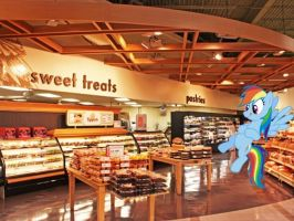 Dashie wants pastries by snakeman1992