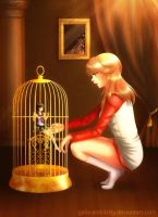 Commission: The Love Birdcage by galia-and-kitty
