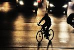 chaos, a bicycle and the man by hidlight