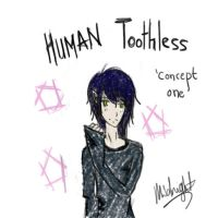 Human Toothless - Concept One by cheritree