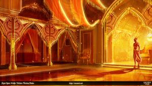 Eyes Open Wide: Telian Throne Room by fang