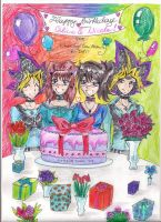 HappyB-Day HikariYugiYamiAtemu by Nahaje3000