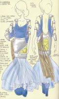 Blastoise: Pokedress 9 by 29CentPens
