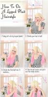 Looped Plait Hairstyle Tutorial by VioletLeBeaux