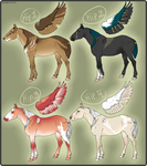 Thuas MARE INCENTIVE RAFFLE - WINNERS by noebelle