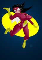 Spider-Woman by jaycubed
