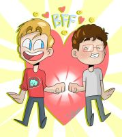 Best Friends Forever :D by IvaTheHuman