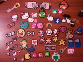 Perler Beads by SkittlesBowRainbow