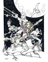Guardians of the Galaxy Commission by BillWalko