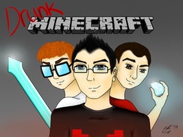 Markiplier: Drunk Minecraft 2 by ActCat808