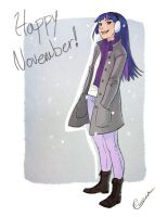 Winter Twilight Sparkle by vasira