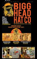 BIG HEAD HATS MYSPACE PAGE by truthdondie