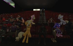 At the Movies by FezWearingDoctor