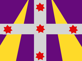 Flag of the Republic of New Samaria by Link-Tesla