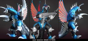 Gigan Final Wars by dopepope