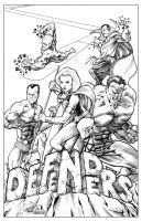 The Defenders by jamesq