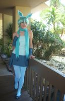 Gijinka Glaceon Cosplay by LuckyCat42