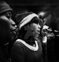 she sung a white christmas by djati
