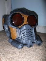 Star Lord Helmet by InfamouslyDorky