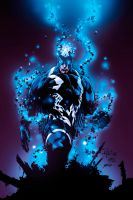 Black Bolt - colors by gabcontreras