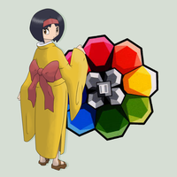 Grass Type Gym Leader: Erika by mssingno