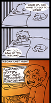 A Tale of Last Saturday by AnArtistCalledRed