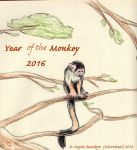 Year of the Monkey by AoiKita