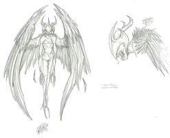 Old Concept Art ~ Valkyrites by RoomsInTheWalls