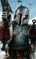 Boba Fett?.....Boba Fett?.....where? by vanmorrisman