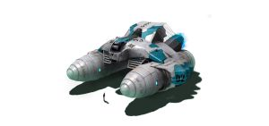xspace Ship Concept 002 by cgmodeler