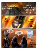 Happy Birthday Sauron by Neodusk