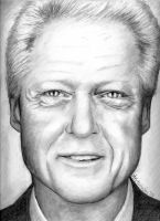 Bill Clinton by NuclearKitty